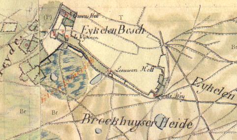 ca 1820 ontginningsvelden Eikelenbos