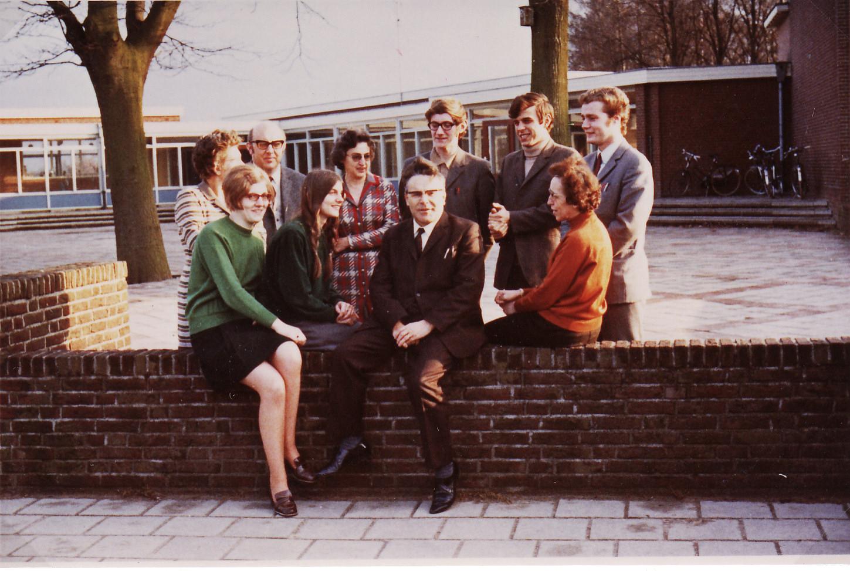Het onderwijzend personeel in 1970