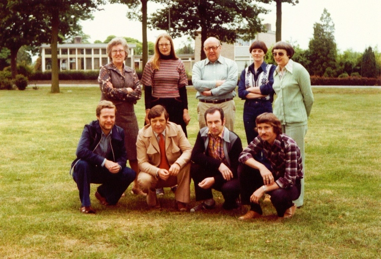 Het onderwijzend personeel in 1978/1979
