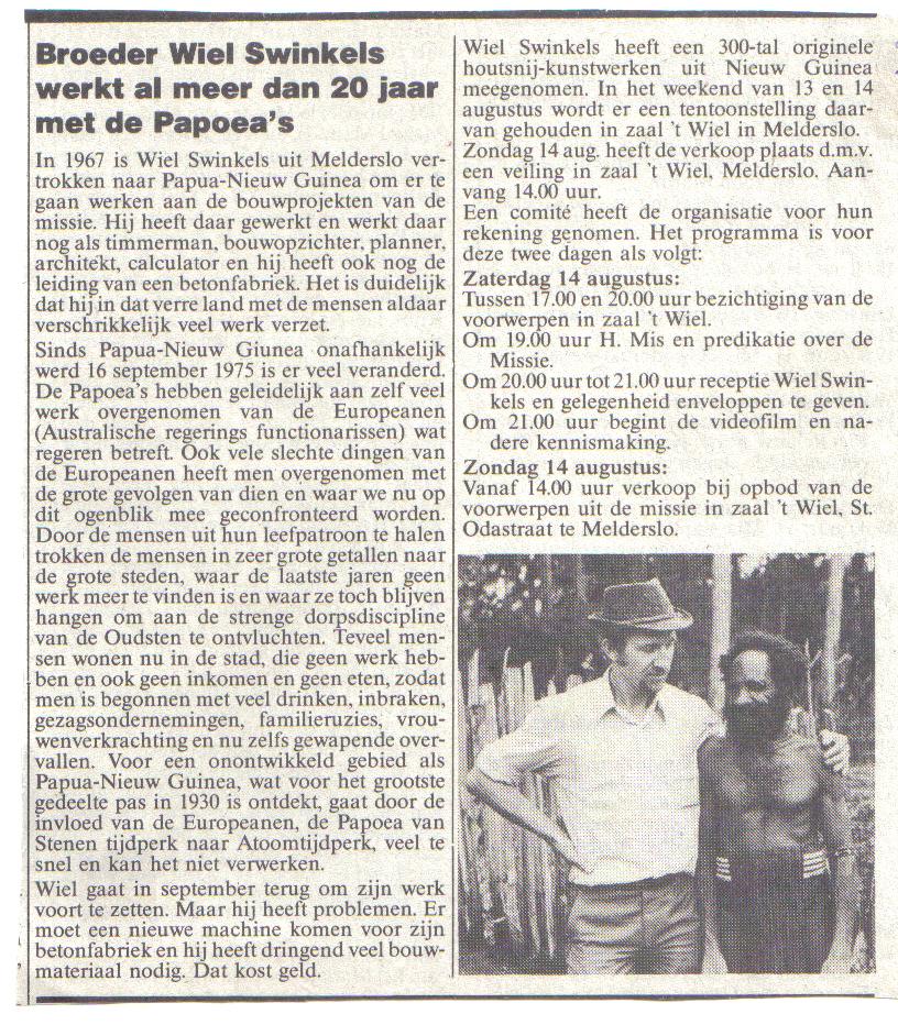Echo knipsel 1988