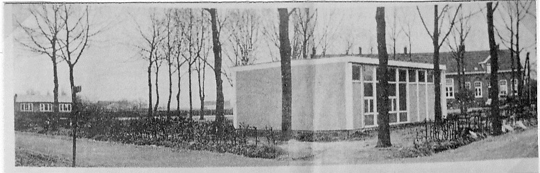 Noodlokalen rond 1964