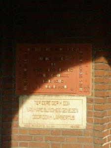 1951 eerste steen kerk Melderslo