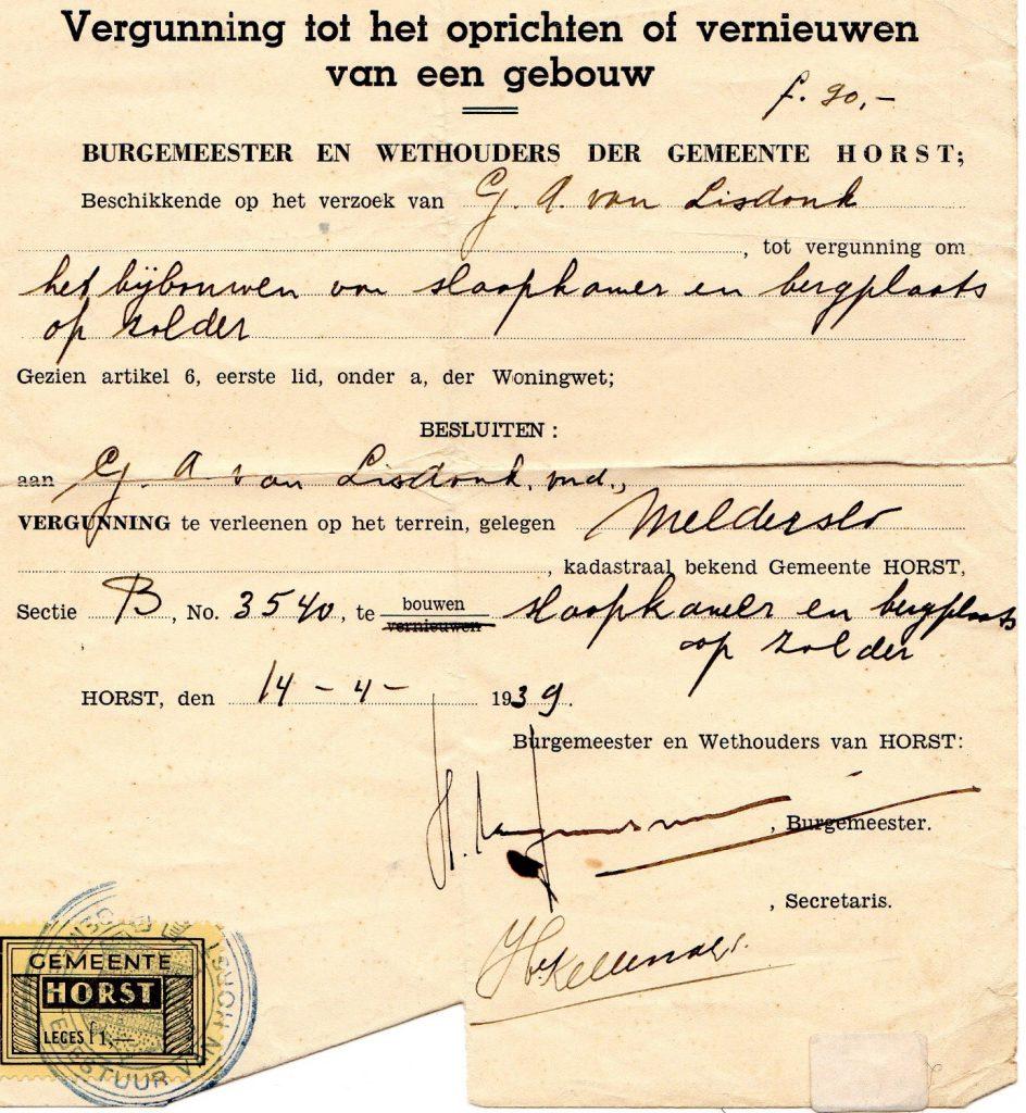 Grad_vergunning_1939