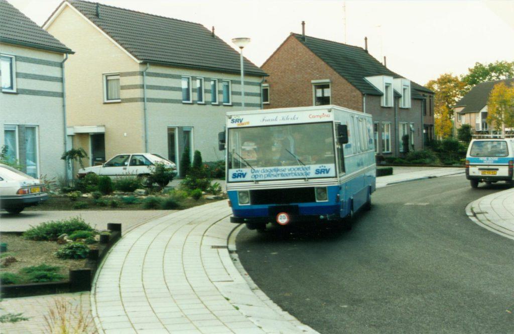 SRV-wagen van Frank Klerkx